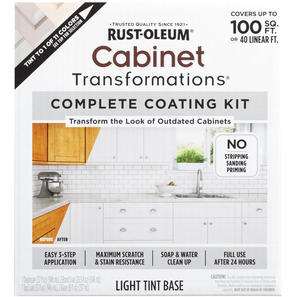 Rust-Oleum Transformations Light Color Cabinet Kit (9-Piece)