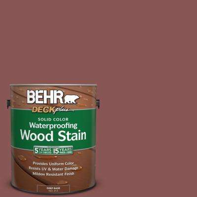 1 gal. #PPU1-9 Red Willow Solid Color Waterproofing Wood Stain