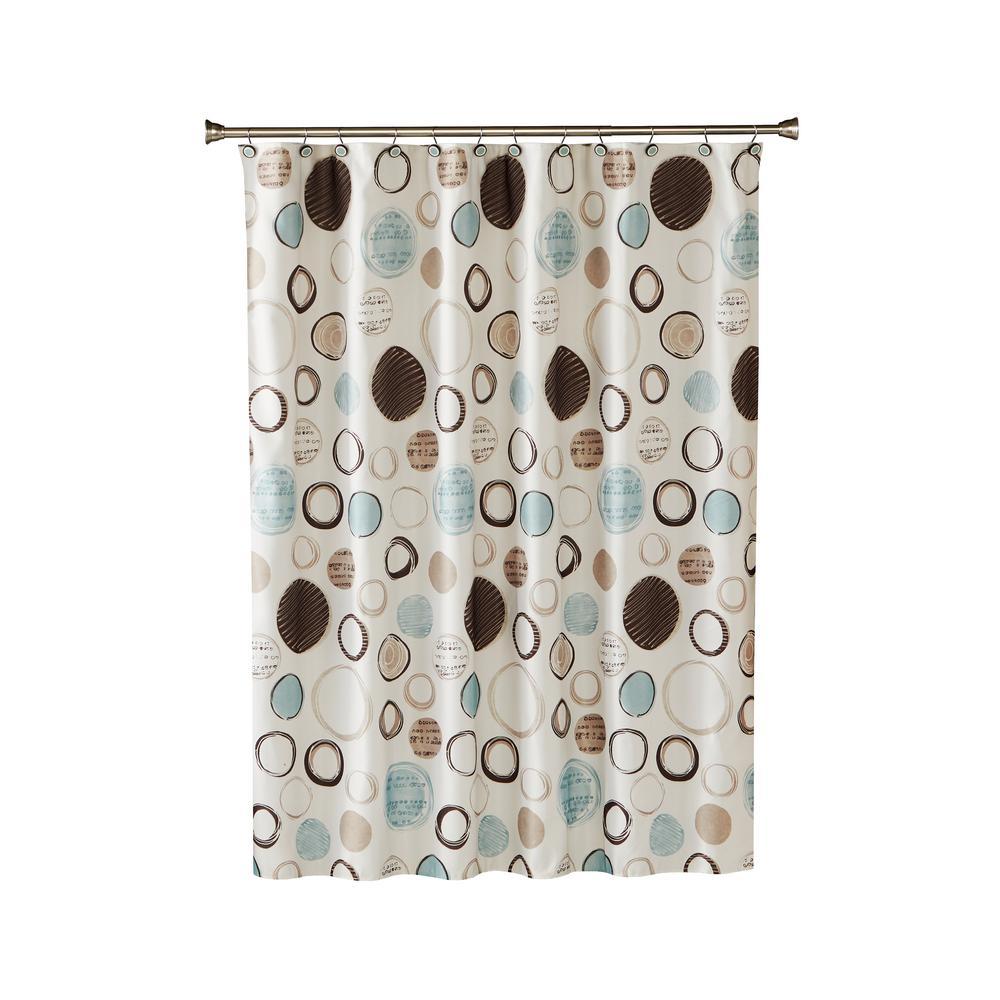 Shower Curtain In Neutral L0279200200001