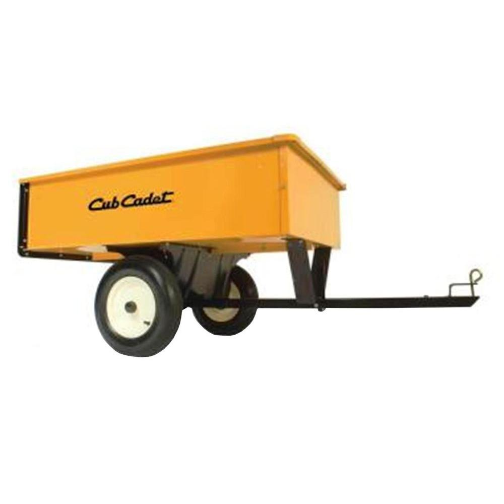 10 cu. ft. 750 lb. Steel Dump Cart