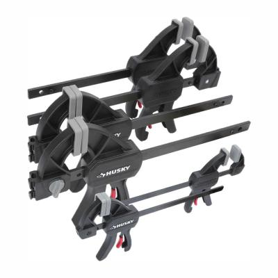 6 in. and 4.5 in. Trigger Clamp Set (6-Piece)