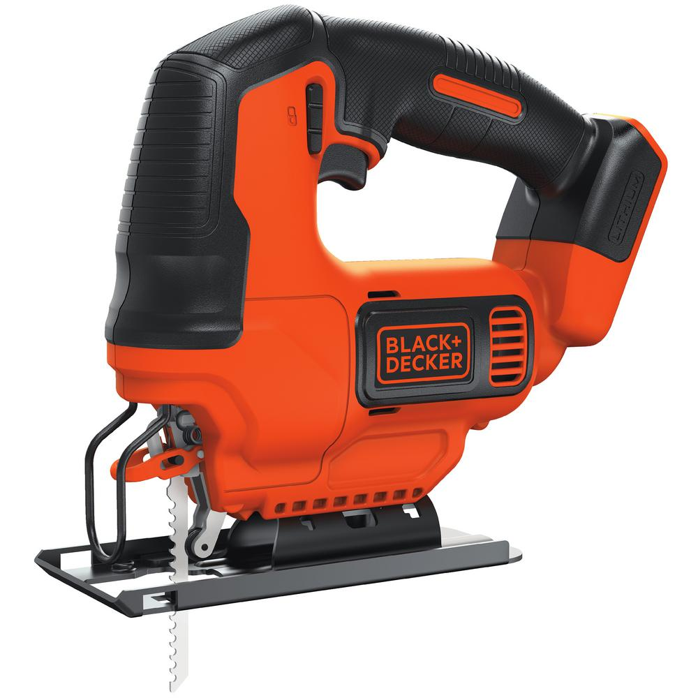 BLACK+DECKER 20-Volt MAX Lithium-Ion Cordless Jig Saw (Tool-Only)