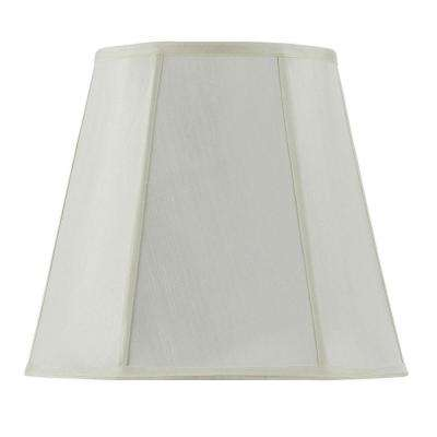 16 in. Egg Shell Vertical Piped Deep Empire Shade
