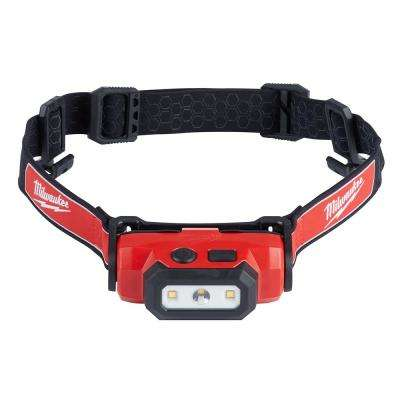 475-Lumen LED Rechargeable Hard Hat Headlamp