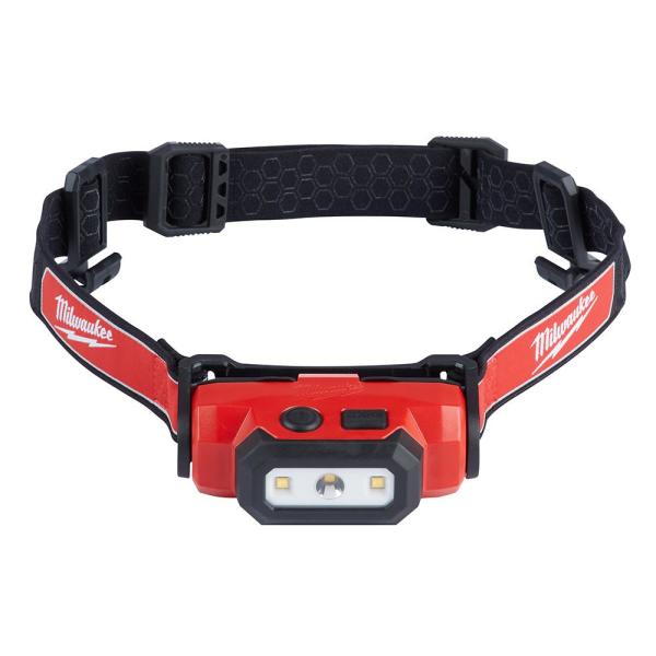 475 Lumens LED Rechargeable Hard Hat Headlamp