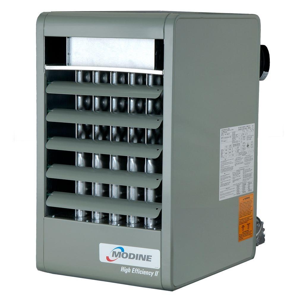 PDP 200,000 BTU Natural Gas Vertical Power Vented Unit Heater