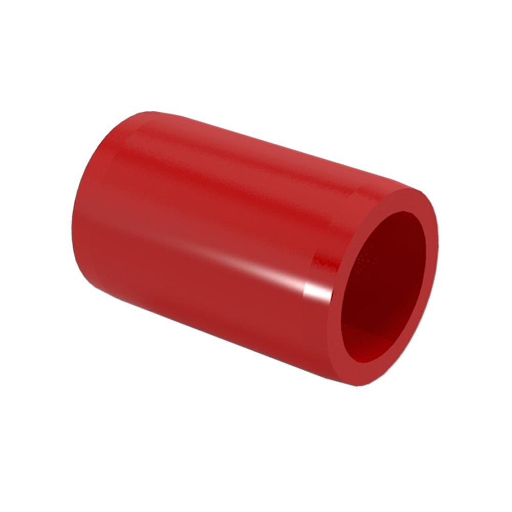 FORMUFIT 3/4 in. Furniture Grade PVC External Coupling in...