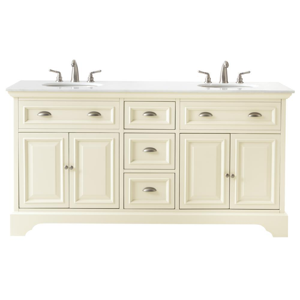 Home decorators collection sadie 67 in double vanity in for Bathroom bathroom bathroom