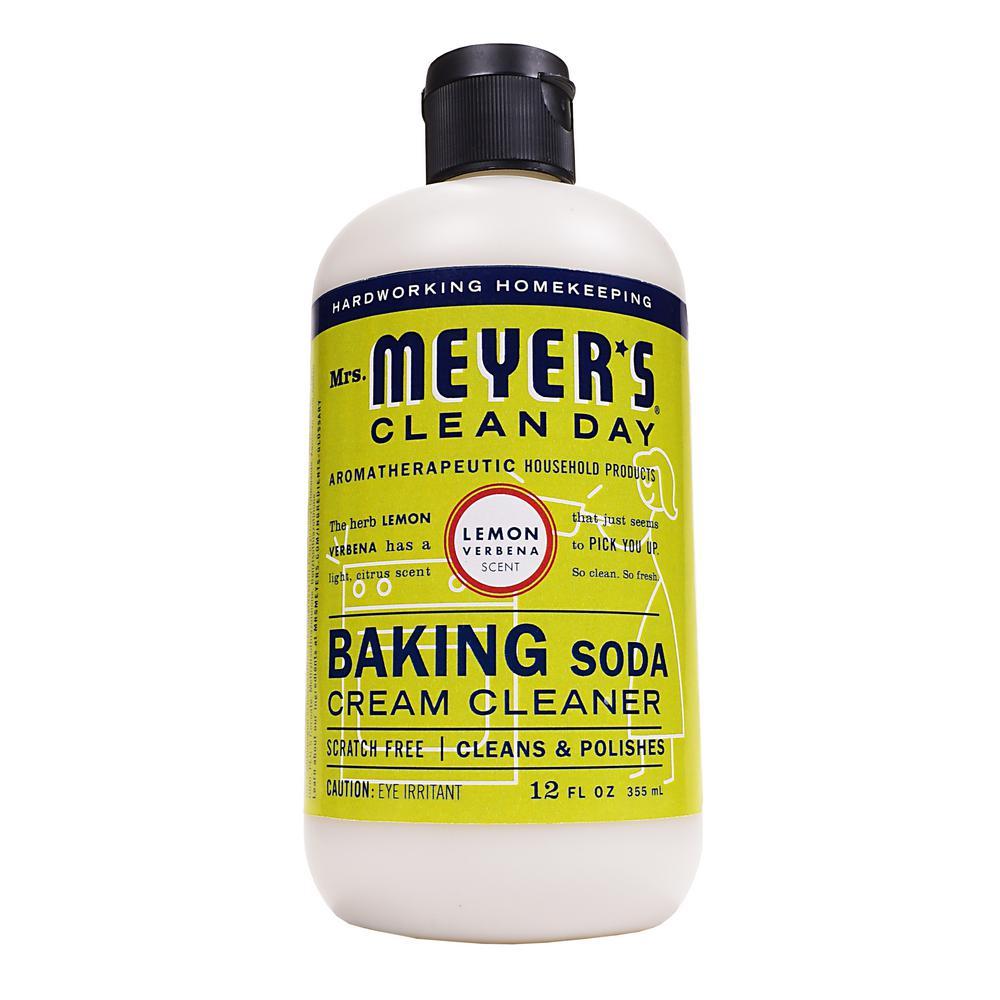 Mrs. Meyer's Clean Day 12 oz. Baking Soda Cream Cleaner, Lemon Verbena