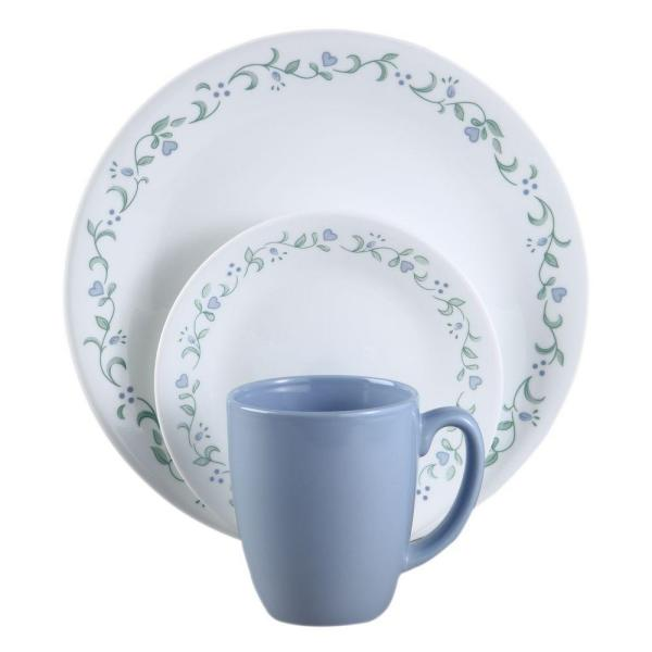 Classic 16-Piece Country Cottage Dinnerware Set