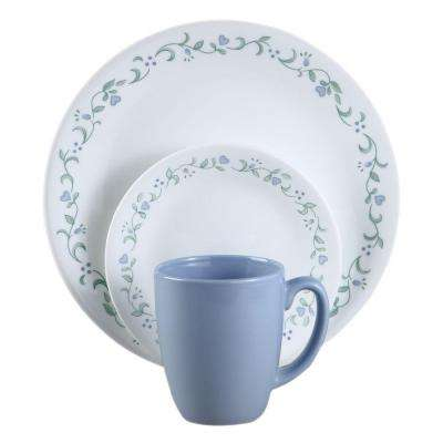 Country Cottage 16-Piece Vitrelle Dinnerware Set