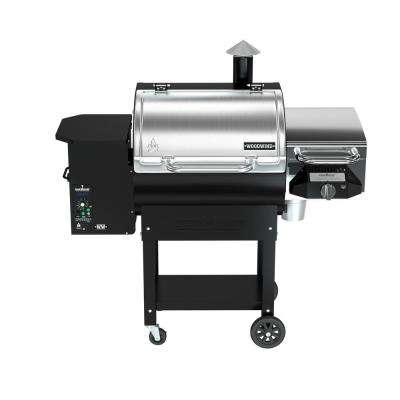 Woodwind Pellet Grill in Stainless Steel with BBQ Sear Box
