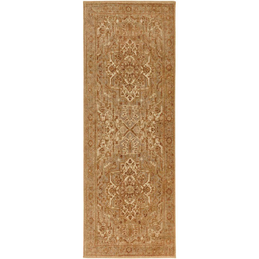 Naredra Rust 2 ft. 7 in. x 7 ft. 3 in.