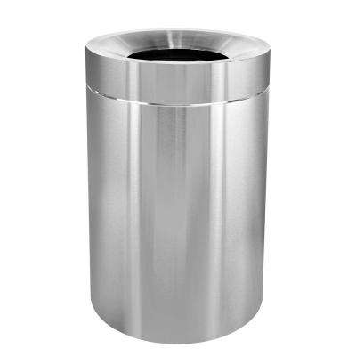 50 Gal. Stainless Steel Commercial Indoor Trash Can