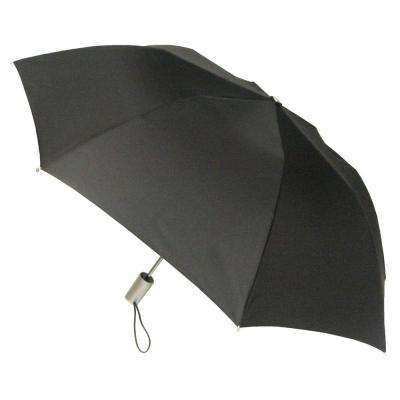 42 in. Black Arc Auto Open Umbrella