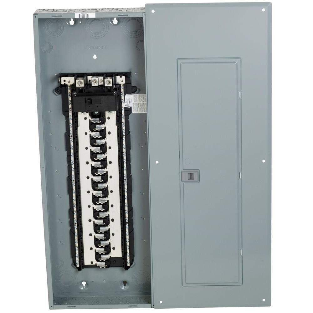 square d homeline 200 amp 42 space 84 circuit indoor main breaker rh homedepot com 240 Volt GFCI Breaker Diagram Sub Panel Breaker Box Diagram