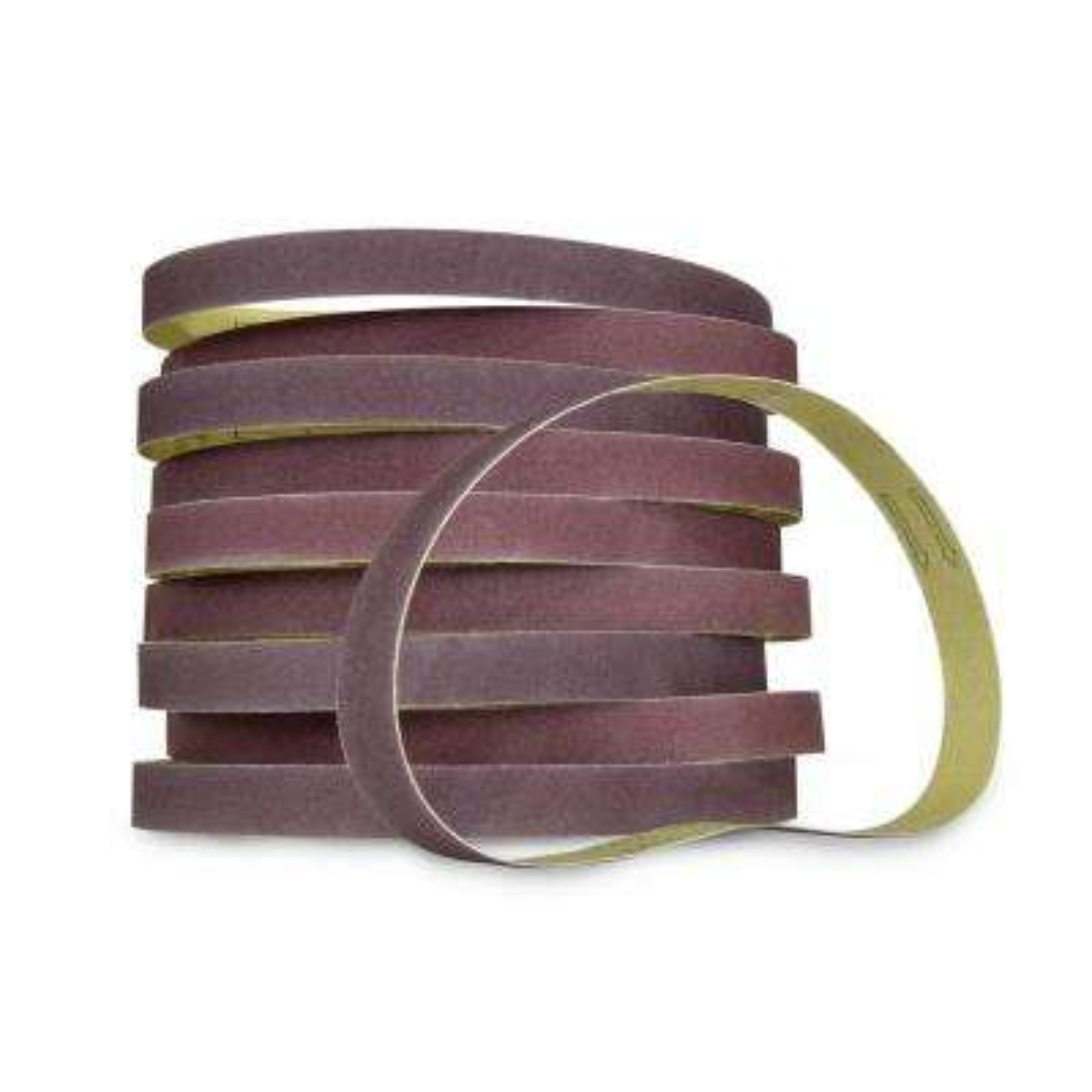 120-Grit 1 x 30 in. Sanding Belt Sandpaper (10-Pack)