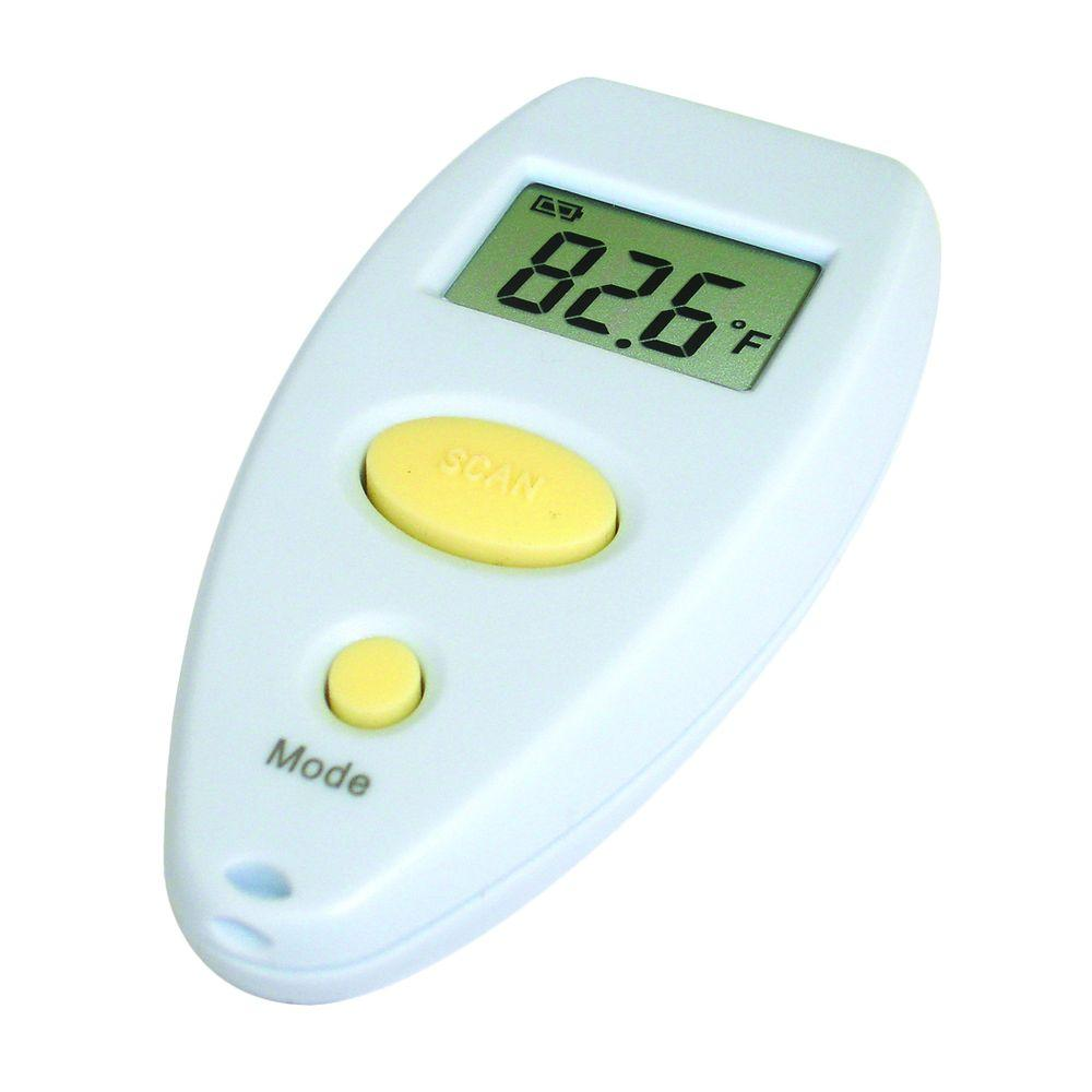 White Digital Infrared Thermometer