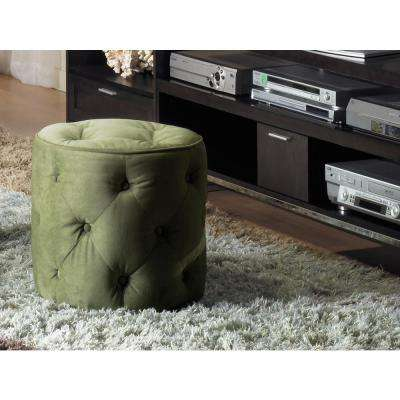 Spring Green Accent Ottoman