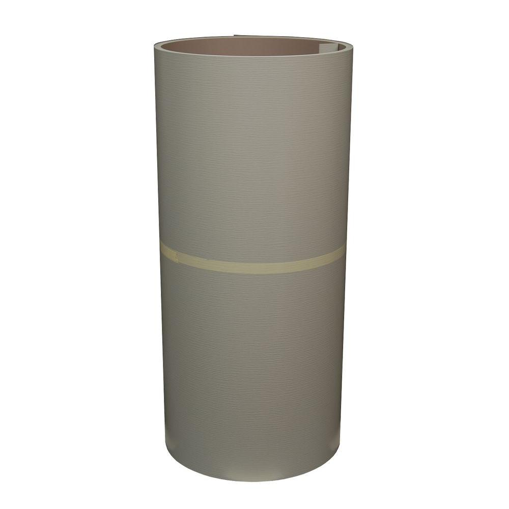 Amerimax Home Products 24 In. X 50 Ft. Sterling Gray And