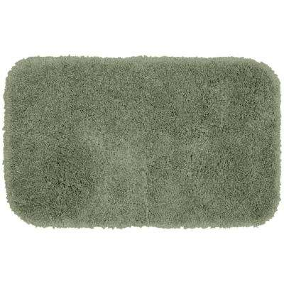 Serendipity Deep Fern 24 in. x 40 in. Washable Bathroom Accent Rug