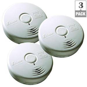 Kidde 10-Year Worry Free Battery Operated Smoke Detector (Bundle of 3) by Kidde