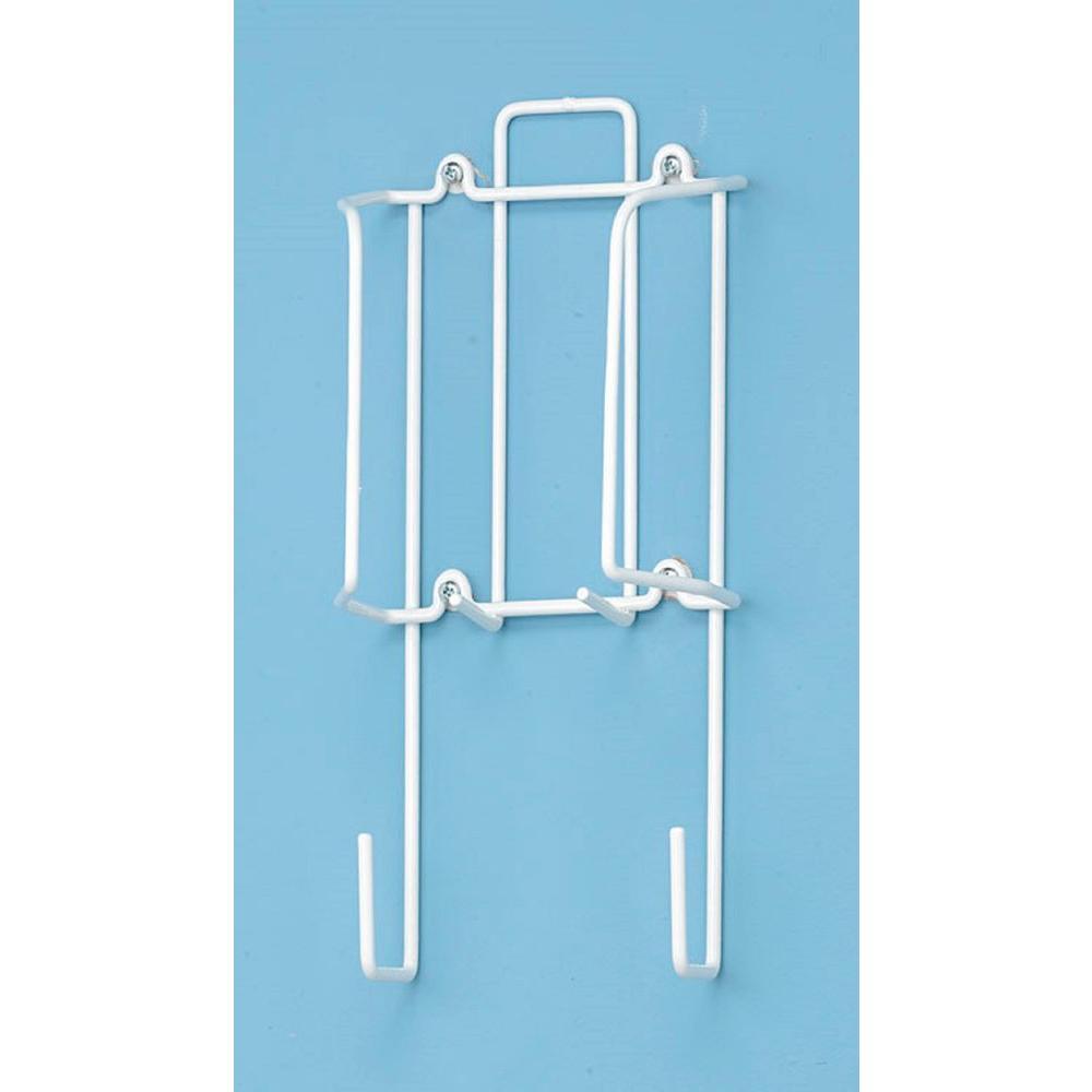 Whitmor 4 Leg T Leg White Over The Door Iron Caddy 6023 5921 The