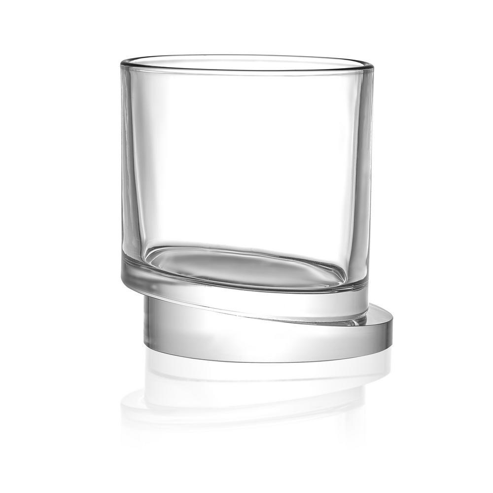 Aqua Vitae 11.5 oz. Off Base Round Whiskey Glasses (Set of 2)