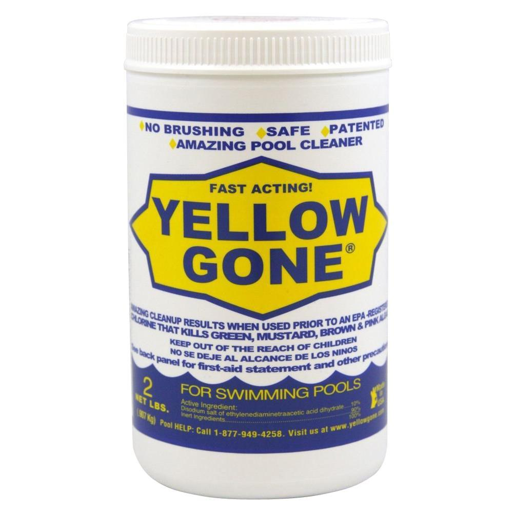 Yellow Gone 2 Lb Fast Acting Pool Cleanup For Green And