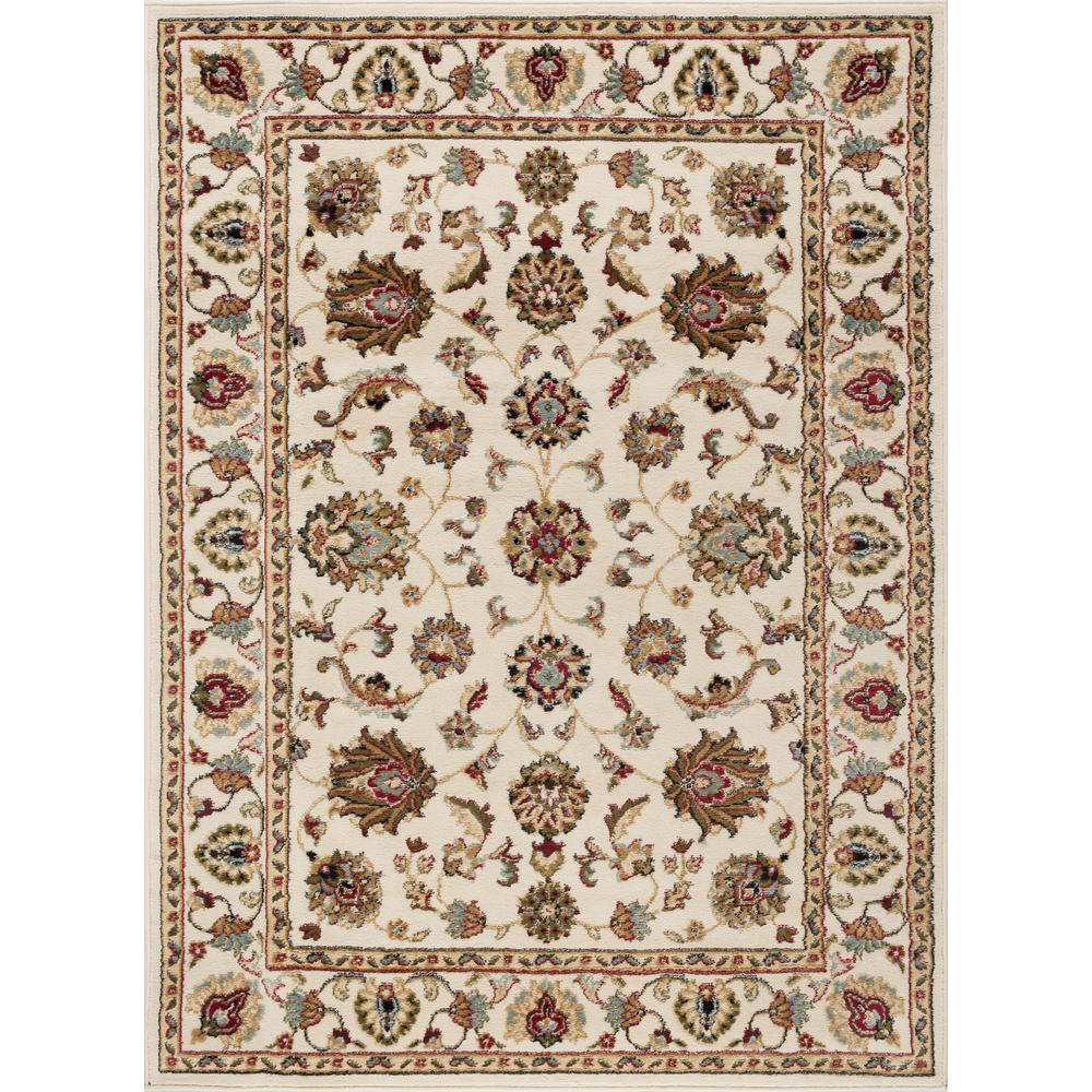 Tayse Rugs Hampton Traditional Ivory 9 Ft X 13 Ft Area