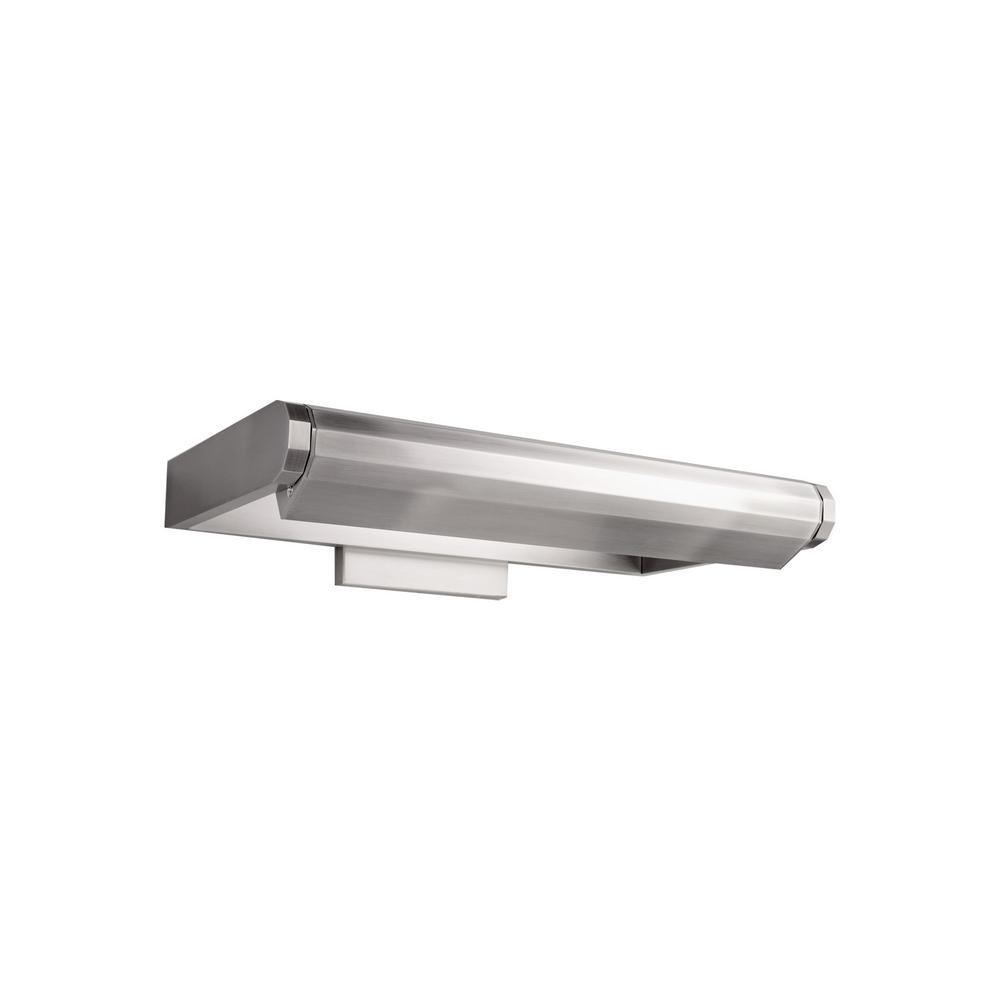 Kent 11 in. Brushed Nickel LED Adjustable Picture Light, 3000K
