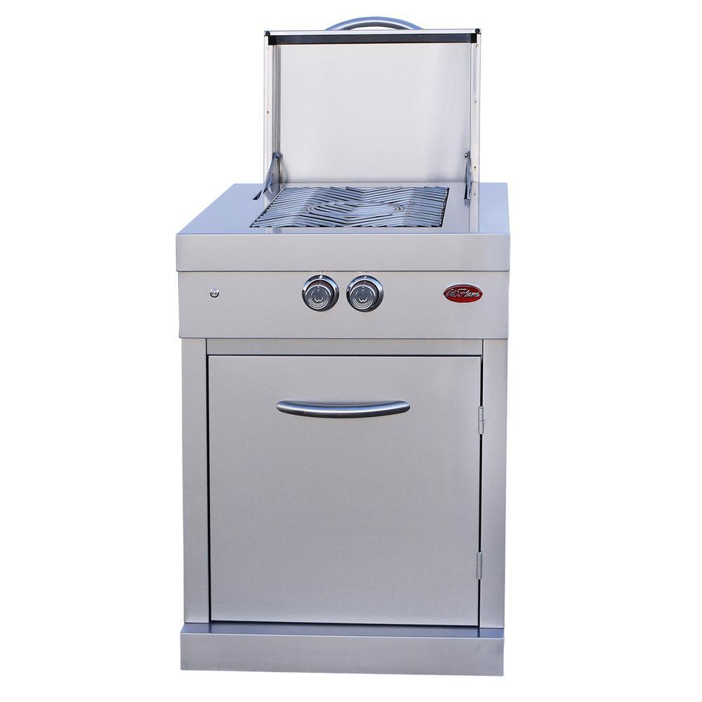 Cal Flame Modular 2-Burner Outdoor Kitchen Power Burner