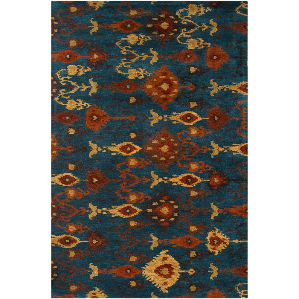Amarillo Teal 2 ft. x 3 ft. Accent Rug