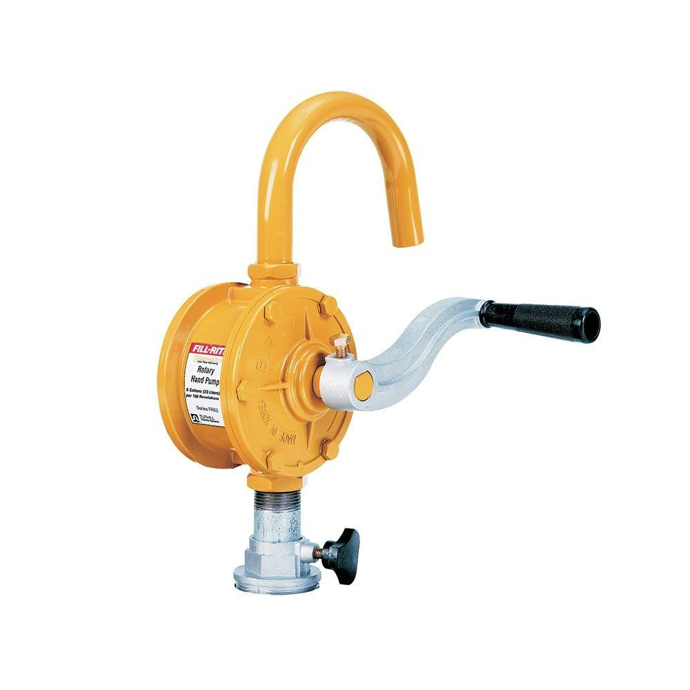 Fill Rite Rotary Tank Or Barrel Pump Sd62 The Home Depot