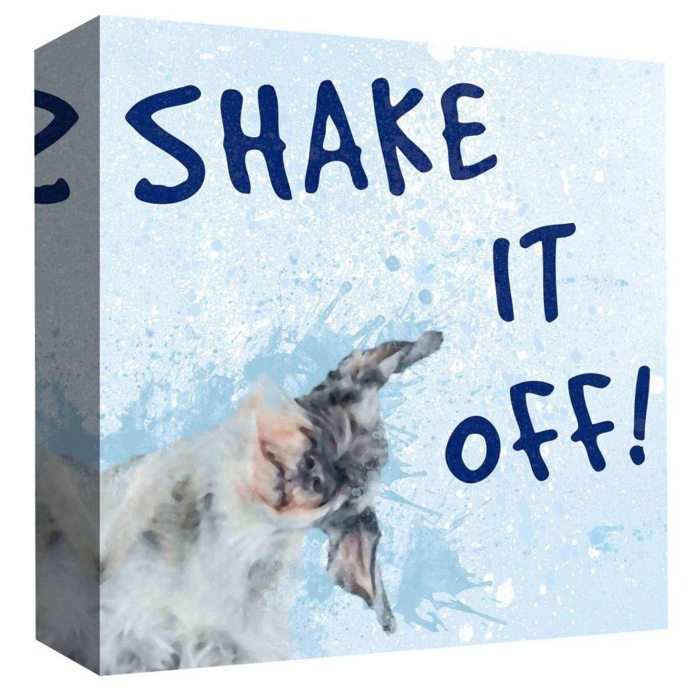 15 in. x 15 in. ''Shake It Off'' By PTM Images