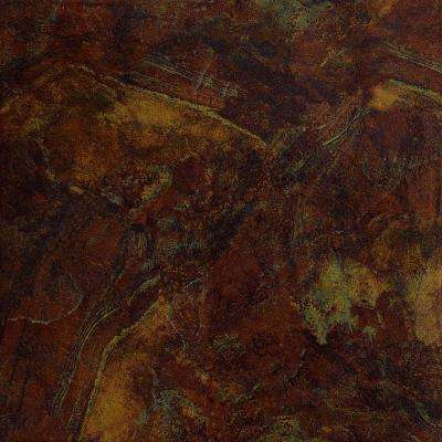 Imperial Slate Rust 16 in. x 16 in. Ceramic Floor and Wall Tile (13.776 sq. ft. / case)