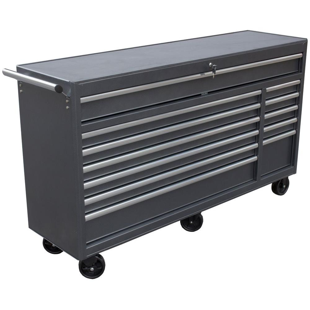 WEN 66 in. 12-Drawer Roll Away Tool Cabinet-74712 - The Home Depot