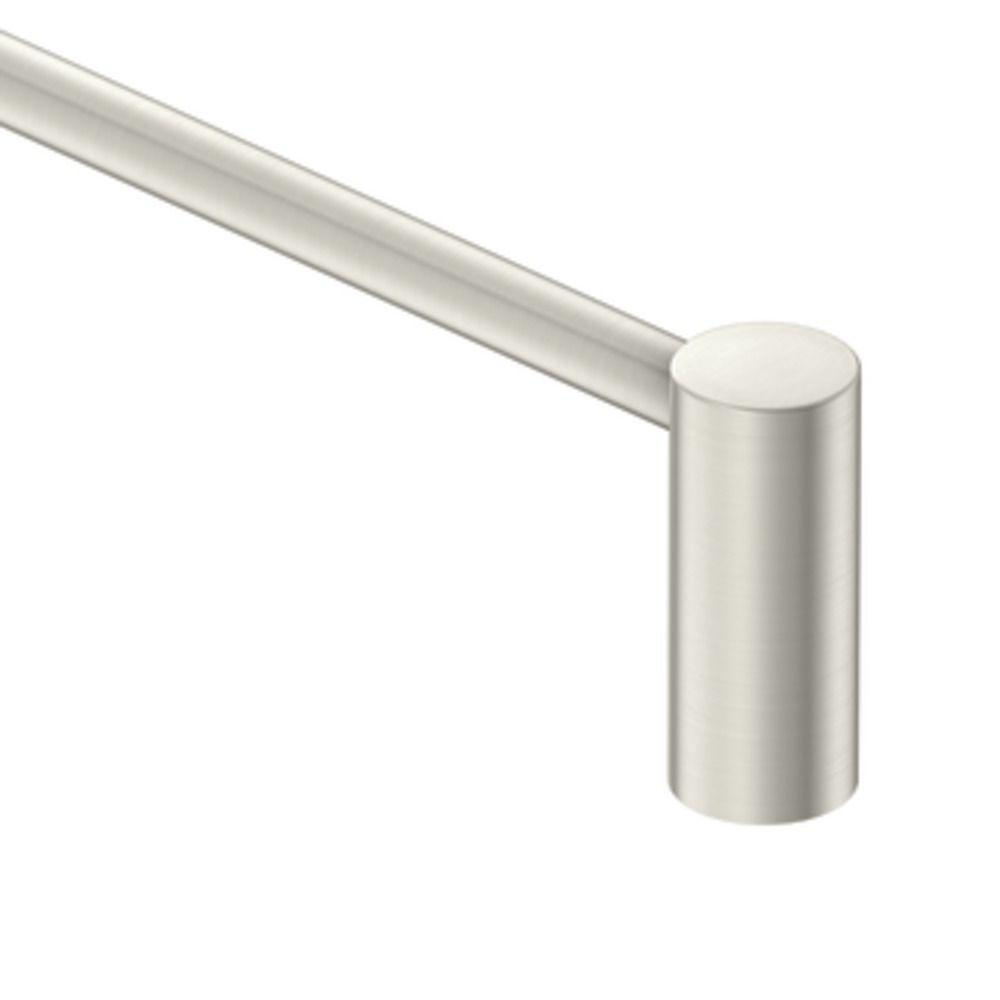 MOEN Eva 24 in. Towel Bar in Brushed Nickel-YB2824BN - The Home Depot