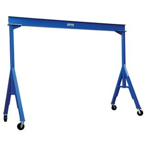 Click here to buy Vestil 6,000 lb. 15 ft. Long Fixed Steel Gantry Crane by Vestil.