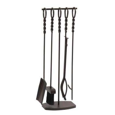 Waverly 5-Piece Fireplace Tool Set