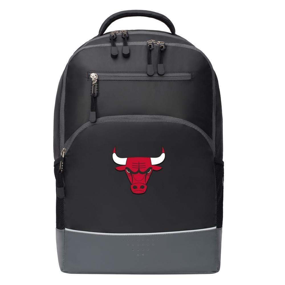 Bulls 19 in. Black Alliance Backpack