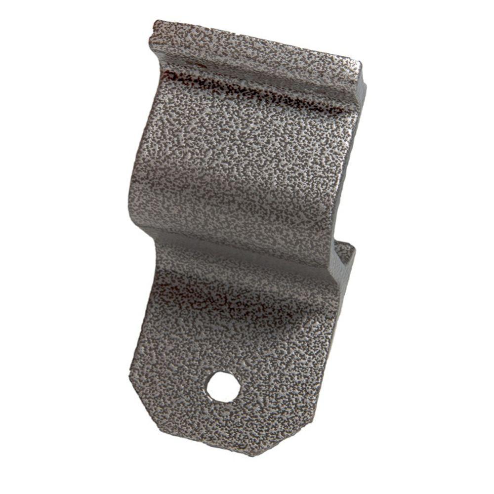 EZ Handrail Silver Vein Aluminum Hand Rail Wall Bracket