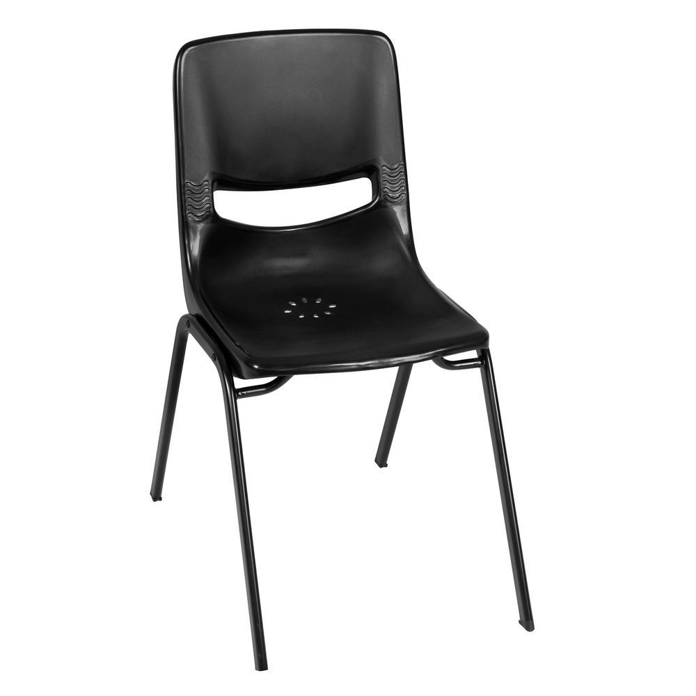 Charm Black Stack Chair