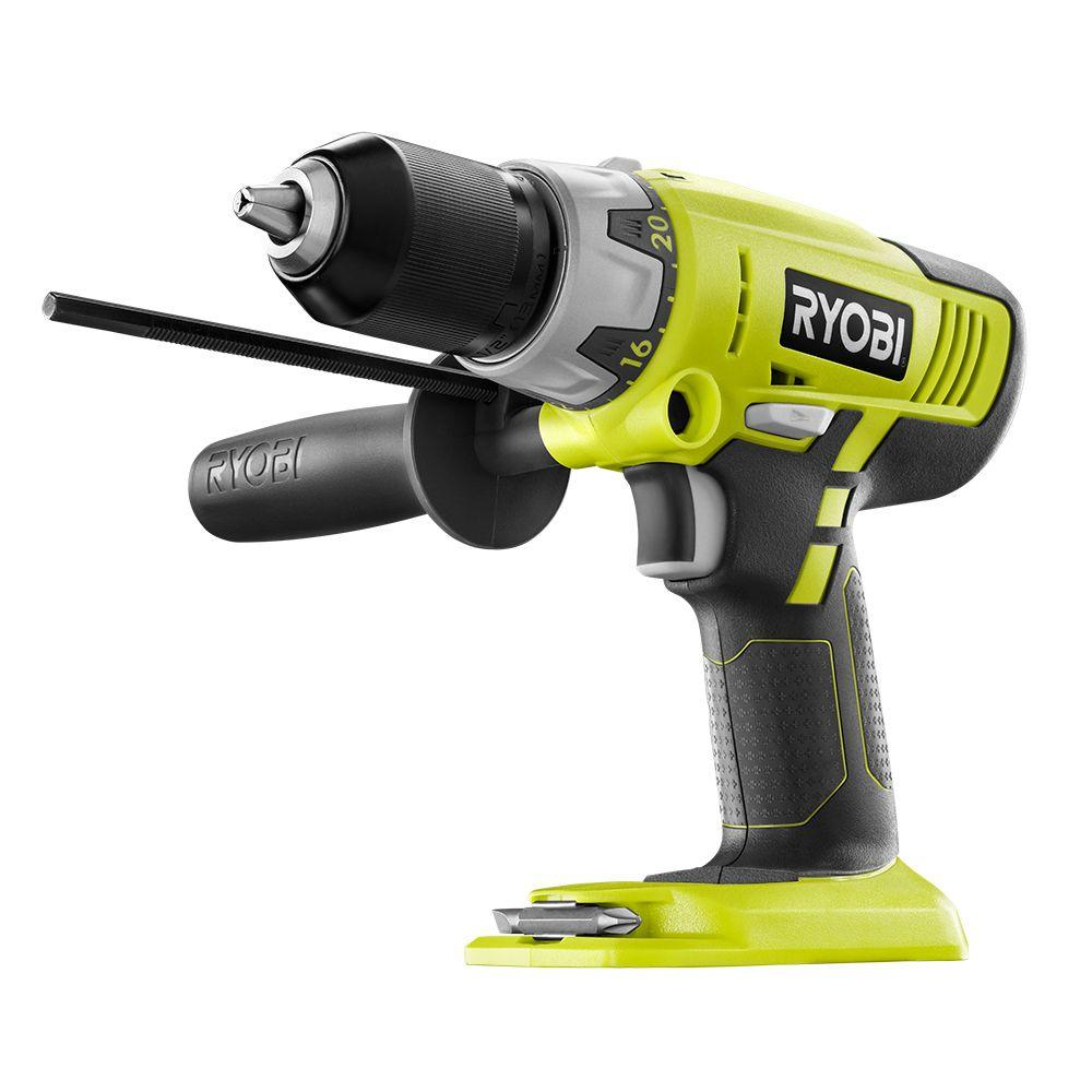 Ryobi 18-Volt ONE+ 1/2 in. Cordless Hammer Drill (Tool-Only)