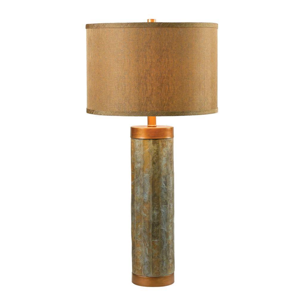 Mattias 31 in. Natural Slate Table Lamp