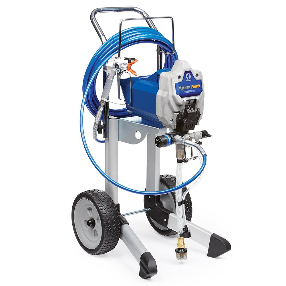 Graco magnum prox19 cart airless paint sprayer 17g180 for Air or airless paint sprayer