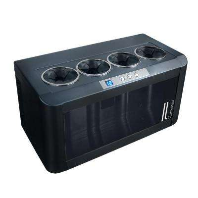 4-Bottle Open Wine Cooler