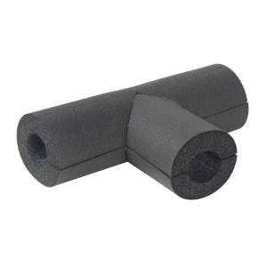 60 Lineal Feet//Carton 1-3//8 x 1 Rubber Pipe Insulation