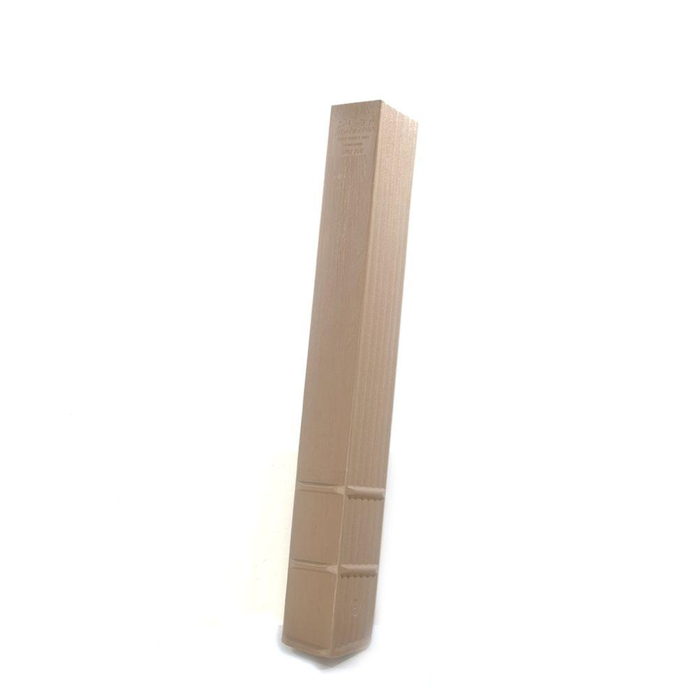 Post Protector 4 in. x 6 in. x 42 ft. In-Ground Fence Post Decay Protection