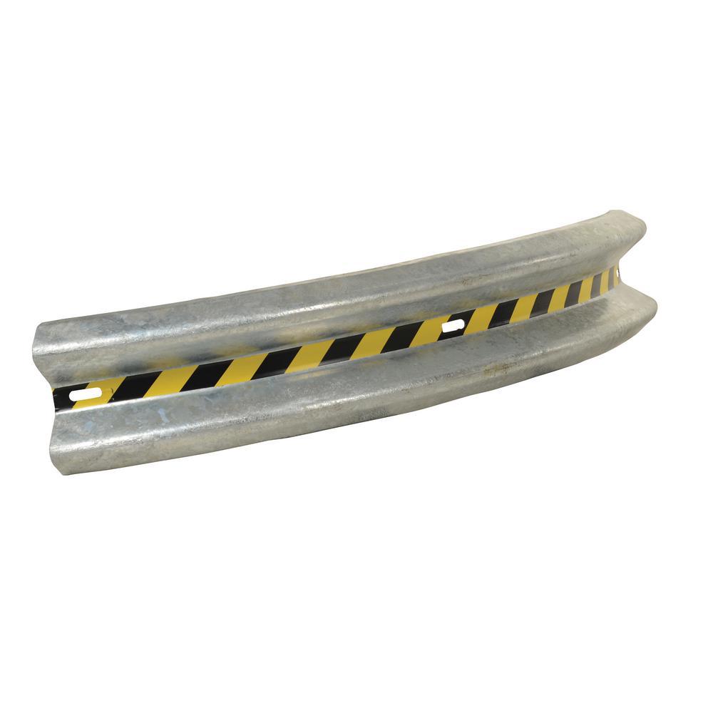 72 in. Curved Guardrail
